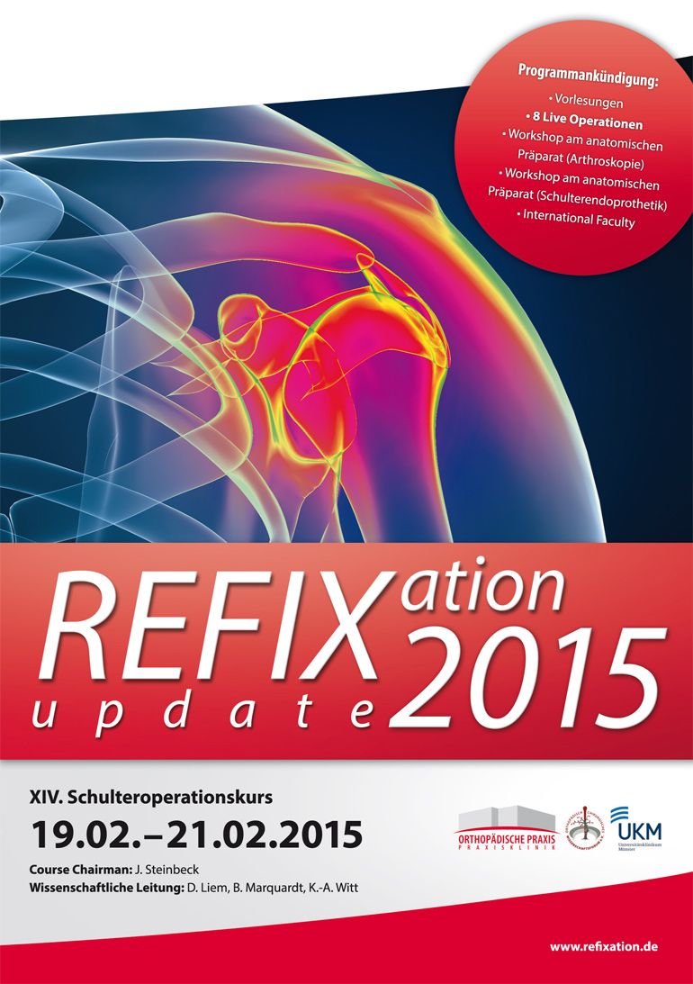 Refixation Update 2015 - Schulteroperationskurs