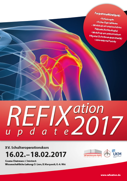 Refixation Update 2017 - Schulteroperationskurs